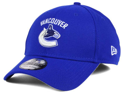 Vancouver Canucks NHL Team Classic 39THIRTY Cap Hats