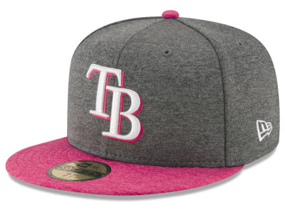 Tampa Bay Rays 2017 Mothers Day 59FIFTY Cap Hats