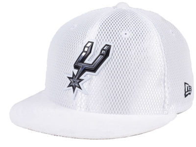 San Antonio Spurs NBA On-Court Collection Draft 59FIFTY Cap Hats