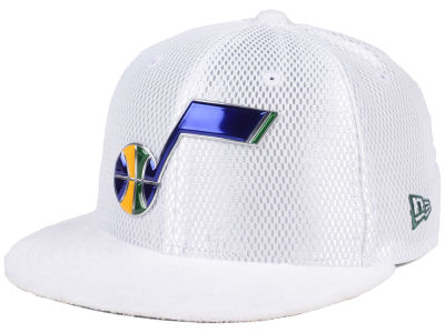 Utah Jazz NBA On-Court Collection Draft 59FIFTY Cap Hats