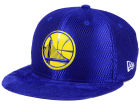 Golden State Warriors New Era NBA On-Court Collection Draft 9FIFTY Snapback Cap Adjustable Hats