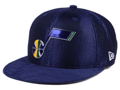 Utah Jazz NBA On-Court Collection Draft 9FIFTY Snapback Cap Hats