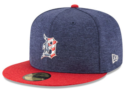 Detroit Tigers 2017 MLB Kids Stars & Stripes 59FIFTY Cap Hats