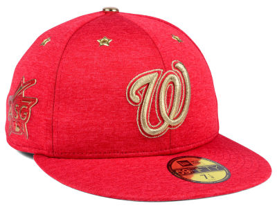 Washington Nationals 2017 MLB All Star Game Patch 59FIFTY Cap Hats