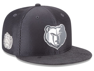 Memphis Grizzlies NBA On-Court Graphite Collection 9FIFTY Snapback Cap Hats