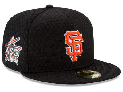 San Francisco Giants 2017 MLB All Star Game Home Run Derby Patch 59FIFTY Cap Hats