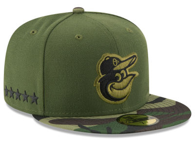 Baltimore Orioles 2017 MLB Memorial Day 59FIFTY Cap Hats