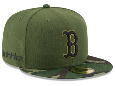 Boston Red Sox 2017 MLB Memorial Day 59FIFTY Cap Hats