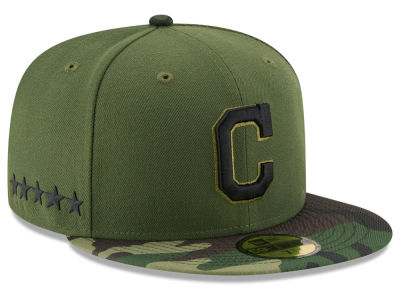 Cleveland Indians 2017 MLB Memorial Day 59FIFTY Cap Hats
