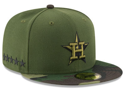 Houston Astros 2017 MLB Memorial Day 59FIFTY Cap Hats