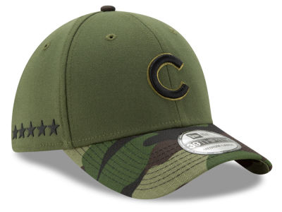 Chicago Cubs 2017 MLB Memorial 39THIRTY Cap Hats