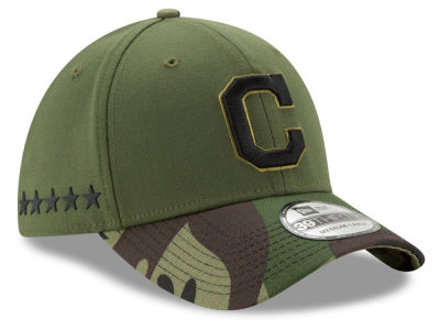 Cleveland Indians 2017 MLB Memorial 39THIRTY Cap Hats