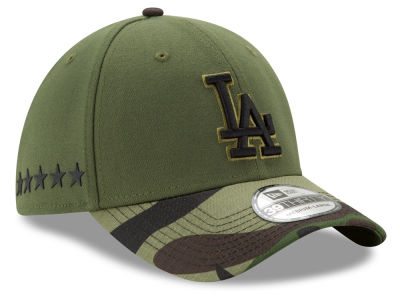 Los Angeles Dodgers 2017 MLB Memorial 39THIRTY Cap Hats