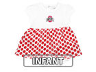 Ohio State Buckeyes NCAA Infant Girls Megan Polka Dot Dress Dresses