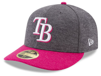 Tampa Bay Rays 2017 Mothers Day Low Profile 59FIFTY Cap Hats