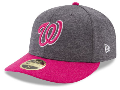 Washington Nationals 2017 Mothers Day Low Profile 59FIFTY Cap Hats