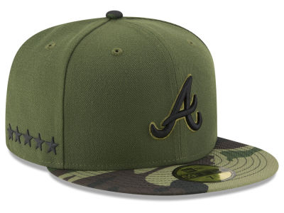 Atlanta Braves 2017 MLB Youth Memorial Day 59FIFTY Cap Hats