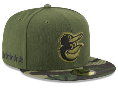 Baltimore Orioles 2017 MLB Youth Memorial Day 59FIFTY Cap Hats