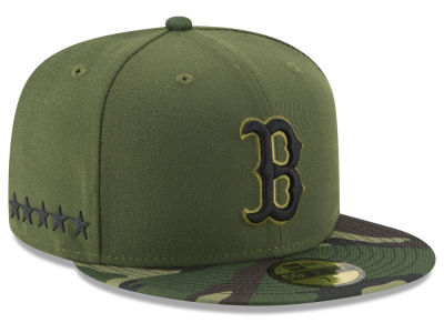 Boston Red Sox 2017 MLB Youth Memorial Day 59FIFTY Cap Hats