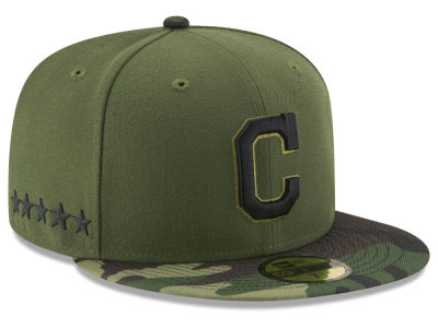 Cleveland Indians 2017 MLB Youth Memorial Day 59FIFTY Cap Hats