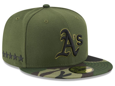 Oakland Athletics 2017 MLB Youth Memorial Day 59FIFTY Cap Hats