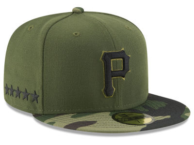 Pittsburgh Pirates 2017 MLB Youth Memorial Day 59FIFTY Cap Hats