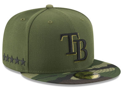 Tampa Bay Rays 2017 MLB Youth Memorial Day 59FIFTY Cap Hats