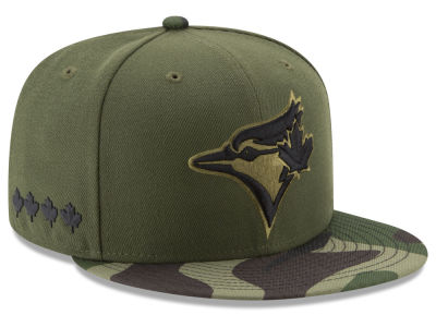 Toronto Blue Jays 2017 MLB Youth Memorial Day 59FIFTY Cap Hats