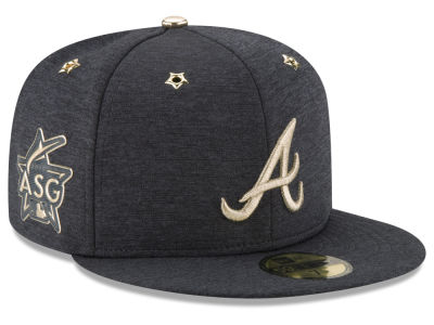 Atlanta Braves 2017 MLB Youth All Star Game Patch 59FIFTY Cap Hats
