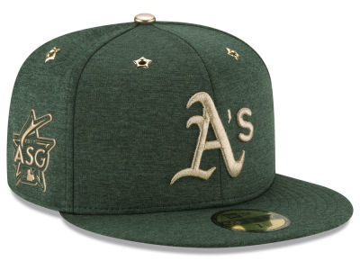 Oakland Athletics 2017 MLB Youth All Star Game Patch 59FIFTY Cap Hats