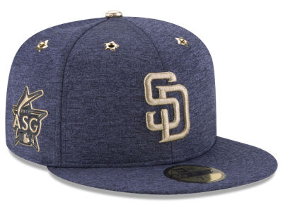 San Diego Padres 2017 MLB Youth All Star Game Patch 59FIFTY Cap Hats