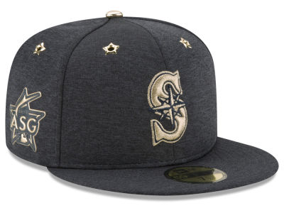Seattle Mariners 2017 MLB Youth All Star Game Patch 59FIFTY Cap Hats