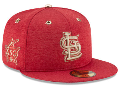 St. Louis Cardinals 2017 MLB Youth All Star Game Patch 59FIFTY Cap Hats