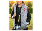 Ohio State Buckeyes Gameday Couture NCAA Women's City Chic Quilted Vest Jackets