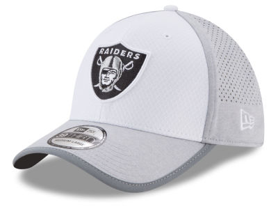 Oakland Raiders 2017 NFL Training 39THIRTY Cap Hats