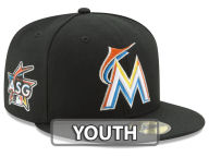 New Era MLB 2017 Miami Kids ASG Patch 59FIFTY Cap Fitted Hats