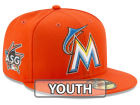 Miami Marlins New Era MLB 2017 Miami Kids ASG Patch 59FIFTY Cap Fitted Hats