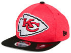Kansas City Chiefs New Era NFL Heather Huge 9FIFTY Snapback Cap Adjustable Hats