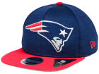 New England Patriots New Era NFL Heather Huge 9FIFTY Snapback Cap Adjustable Hats