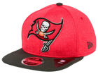 Tampa Bay Buccaneers New Era NFL Heather Huge 9FIFTY Snapback Cap Adjustable Hats