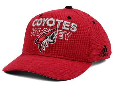 best sneakers 6ecc5 aeec9 ... get arizona coyotes adidas nhl 100th celebration structured adjustable  cap lids ab43e c3337