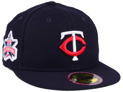 Minnesota Twins MLB Ultimate Patch All Star Collection 59FIFTY Cap Hats