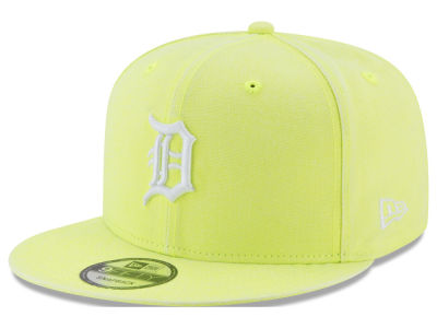 Detroit Tigers MLB Neon Time 9FIFTY Snapback Cap Hats