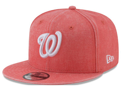 Washington Nationals MLB Neon Time 9FIFTY Snapback Cap Hats