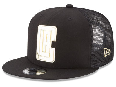 Los Angeles Clippers NBA Metal Mesh 9FIFTY Snapback Cap Hats