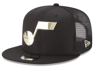 Utah Jazz NBA Metal Mesh 9FIFTY Snapback Cap Hats