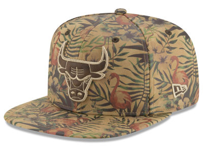 Chicago Bulls NBA Smoove Leather 9FIFTY Snapback Cap Hats