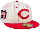 Cincinnati Reds New Era The Coop Ultimate Patch Collection 59FIFTY Cap Fitted Hats