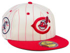 Cleveland Indians New Era The Coop Ultimate Patch Collection 59FIFTY Cap Fitted Hats