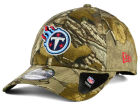 Tennessee Titans New Era NFL The League Realtree 9FORTY Cap Adjustable Hats